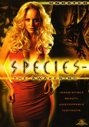 Species: The Awakening - DVD cover (thumbnail)
