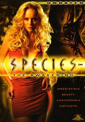 Species: The Awakening - DVD movie cover (thumbnail)