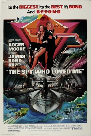 The Spy Who Loved Me - Movie Poster (thumbnail)