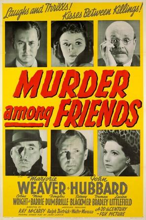 Murder Among Friends - Movie Poster (thumbnail)