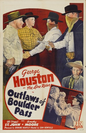 Outlaws of Boulder Pass - Movie Poster (thumbnail)