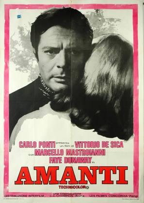 Amanti - Italian Movie Poster (thumbnail)