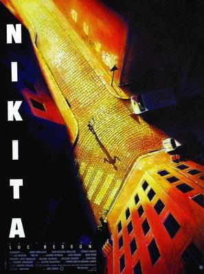 Nikita - French Movie Poster (thumbnail)