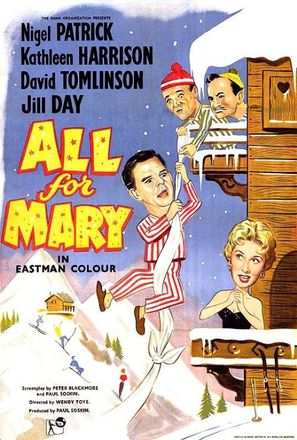All for Mary (1955) movie posters
