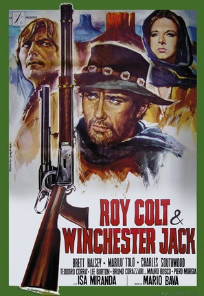 Roy Colt e Winchester Jack - Italian Movie Poster (thumbnail)