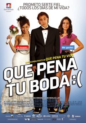 Que pena tu boda - Chilean Movie Poster (thumbnail)