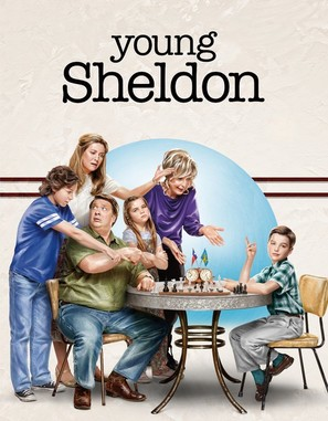 """Young Sheldon"" - Movie Poster (thumbnail)"