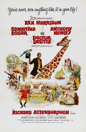 Doctor Dolittle - Movie Poster (thumbnail)