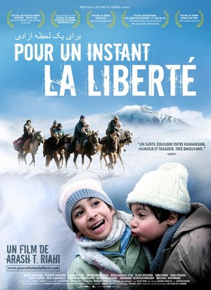 Ein Augenblick Freiheit - French Movie Poster (thumbnail)
