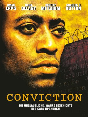 Conviction - German DVD cover (thumbnail)