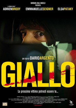 Giallo - Italian Movie Poster (thumbnail)