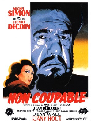 Non coupable - French Movie Poster (thumbnail)