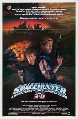 Spacehunter: Adventures in the Forbidden Zone - Movie Poster (thumbnail)