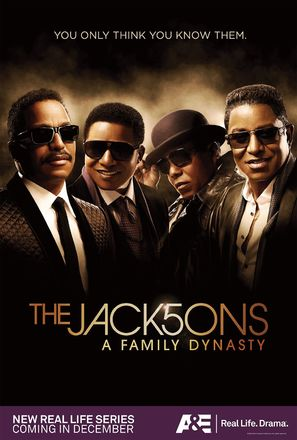 """""""The Jacksons: A Family Dynasty"""" - Movie Poster (thumbnail)"""