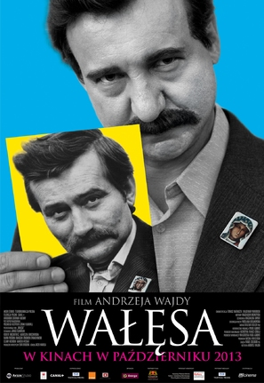 Walesa. Czlowiek z nadziei - Polish Movie Poster (thumbnail)
