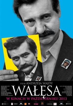 Walesa. Czlowiek z nadziei - Polish Movie Poster (thumbnail)