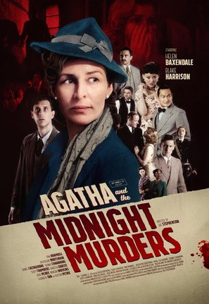 Agatha and the Midnight Murders - British Movie Poster (thumbnail)