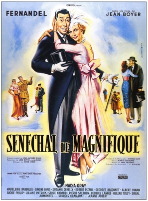 Sènèchal le magnifique - French Movie Poster (thumbnail)