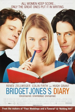 Bridget Jones's Diary - Movie Poster (thumbnail)