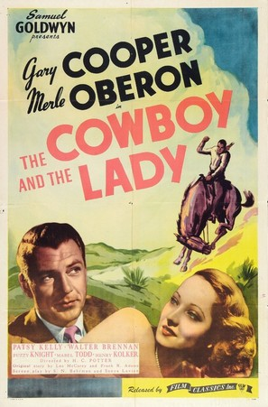 The Cowboy and the Lady - Movie Poster (thumbnail)
