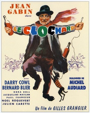 Archimède, le clochard - French Movie Poster (thumbnail)