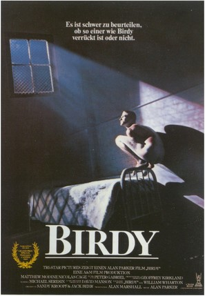 Birdy - German Movie Poster (thumbnail)