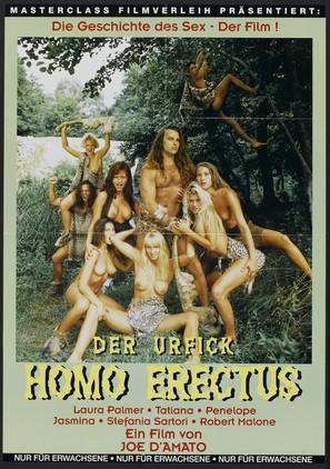Homo Erectus - German Movie Poster (thumbnail)