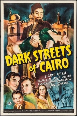 Dark Streets of Cairo - Movie Poster (thumbnail)