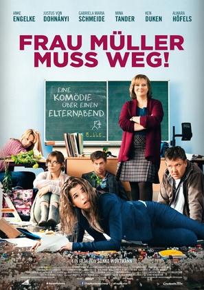 Frau Müller muss weg - German Movie Poster (thumbnail)