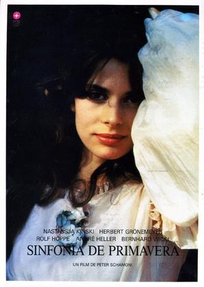 Frühlingssinfonie - Spanish Movie Poster (thumbnail)