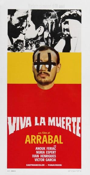 Viva la muerte - Italian Movie Poster (thumbnail)