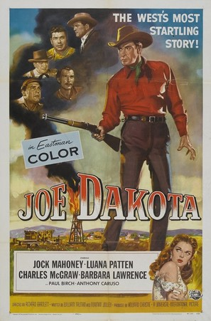 Joe Dakota - Movie Poster (thumbnail)
