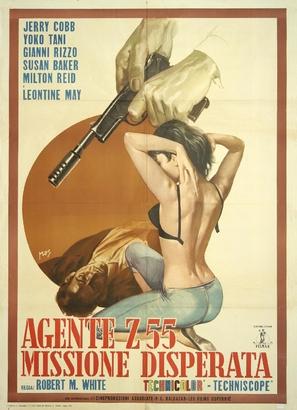 Agente Z 55 missione disperata - Italian Movie Poster (thumbnail)