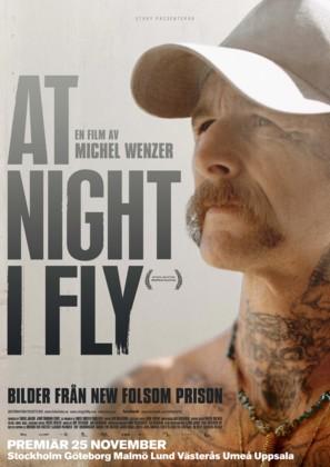 At Night I Fly - Swedish Movie Poster (thumbnail)