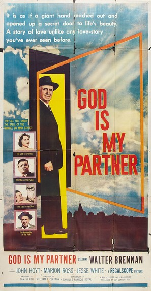 God Is My Partner - Movie Poster (thumbnail)