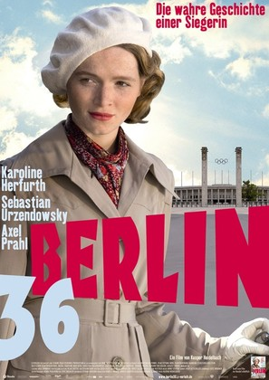 Berlin 36 - German Movie Poster (thumbnail)