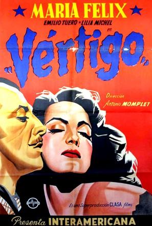 Vértigo - Mexican Movie Poster (thumbnail)