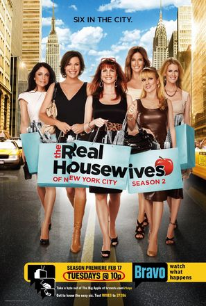 """The Real Housewives of New York City"" - Movie Poster (thumbnail)"