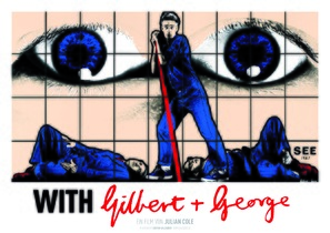 With Gilbert & George - German Movie Poster (thumbnail)