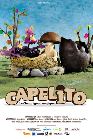 Capelito Daddy - French Movie Poster (thumbnail)
