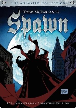 """Spawn"" - DVD movie cover (thumbnail)"