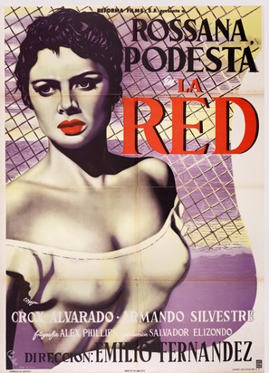 La red - Mexican Movie Poster (thumbnail)