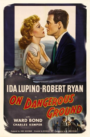On Dangerous Ground - Movie Poster (thumbnail)