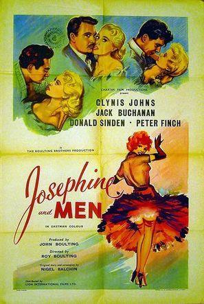 Josephine and Men - Movie Poster (thumbnail)