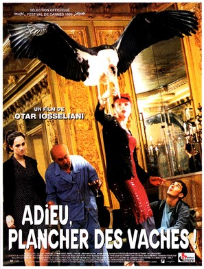 Adieu, plancher des vaches! - French Movie Poster (thumbnail)