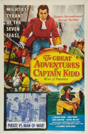 The Great Adventures of Captain Kidd - Movie Poster (thumbnail)