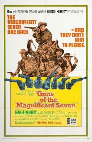 Guns of the Magnificent Seven - Movie Poster (thumbnail)