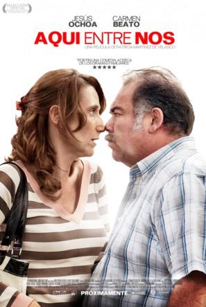 Aquí Entre Nos - Mexican Movie Poster (thumbnail)