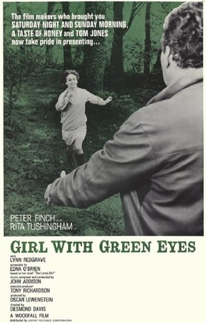Girl with Green Eyes - Movie Poster (thumbnail)