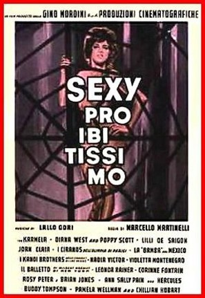 Sexy proibitissimo - Italian Movie Poster (thumbnail)